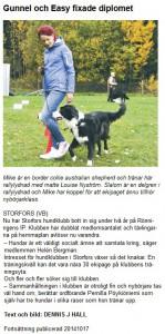 Artikel i Värmlandsbygen